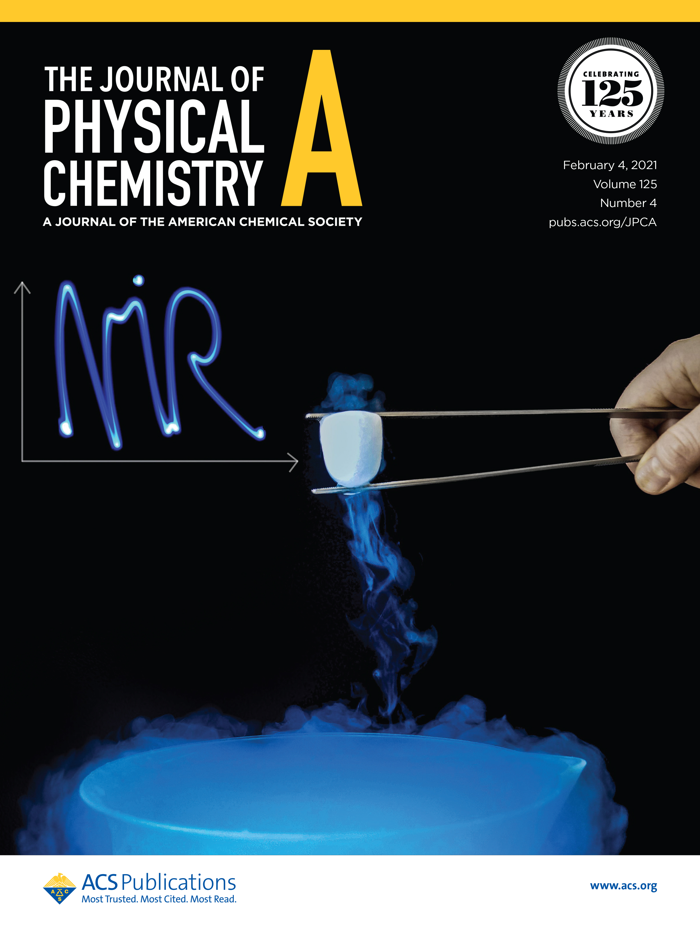Cover J. Phys. Chem. A 125 (2021) Issue 4