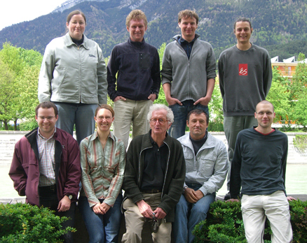 Group picture of April 2009