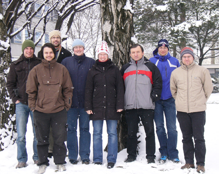 Group picture of February 2011